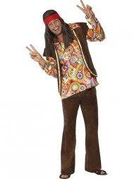 Déguisement 60's Hippie Psychédélique Homme