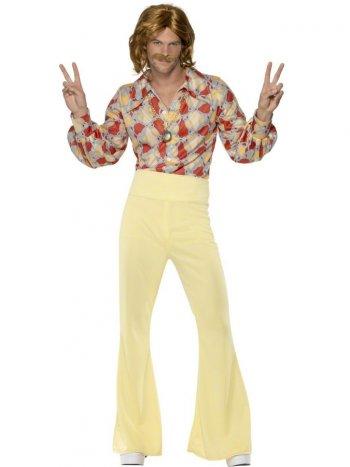 Déguisement 70 s de Hippie Disco Homme Taille M