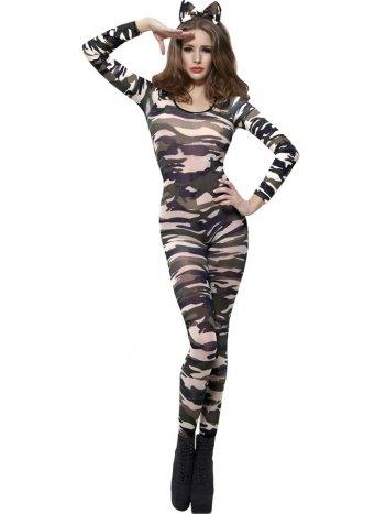 Body Combinaison Camouflage