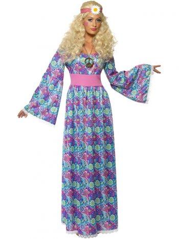 Déguisement Hippie Robe longue