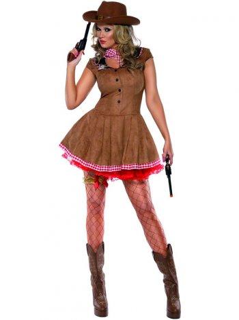 Déguisement de Cowgirl Wild West