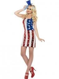 Déguisement de Miss America Strass