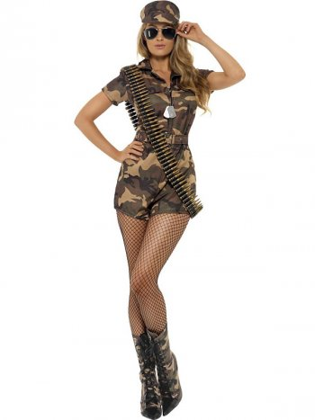 Déguisement de Soldat femme Sexy Taille S