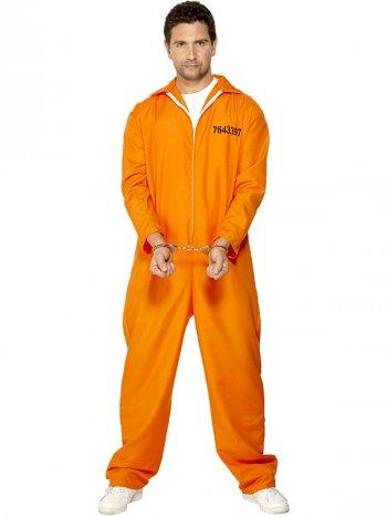 Déguisement de Prisonnier Orange