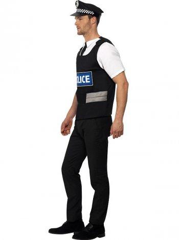 Déguisement de Policier à Damier