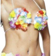 Soutien-gorge coquillages et fleurs Hawai