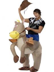 Déguisement de cow boy et monture