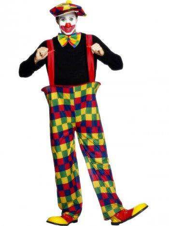 Déguisement de clown cerclé