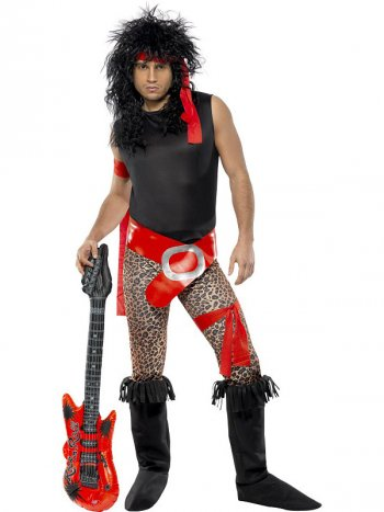 Déguisement de Rock Star Homme 80 s