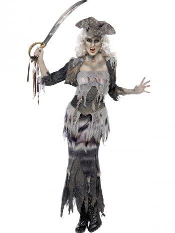 Déguisement Pirate Fantôme Femme