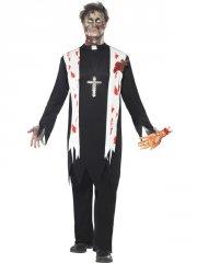 Déguisement de Prêtre Zombie