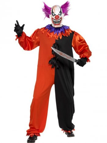 Déguisement de Clown Maléfique