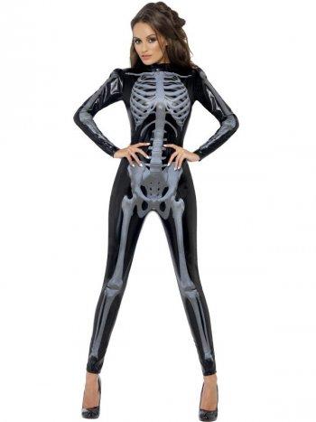 Déguisement Combinaison Squelette Sexy