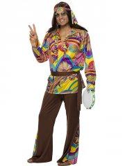Déguisement Hippie Peace 60's