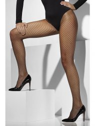 Collants en résilles noirs (Lattice Net)