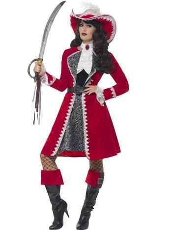 Déguisement de Capitaine Pirate Femme