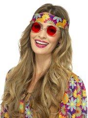 Lunette Hippie Rouge