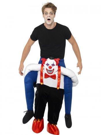 Déguisement à dos de Clown Taille Unique