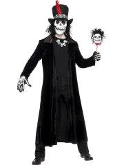Déguisement Squelette Vaudou Taille Unique