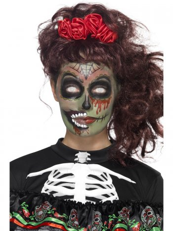 Kit Maquillage Tatouage Calavera Zombie