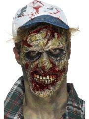 Prothèse Mousse Latex Visage de Zombie