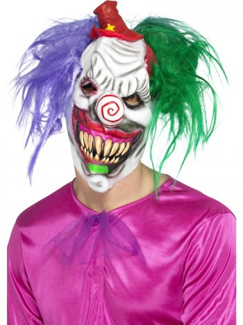 Masque Clown Killer Halloween - Latex