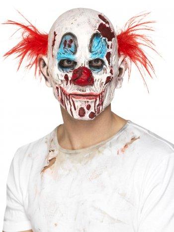 Masque Intégral Clown Zombie - Latex Mousse