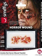 Prothèse Transfert Peau de Zombie en Décomposition