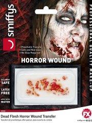 Prothèse Transfert Plaie Ouverte de Zombie