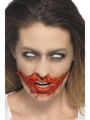 Kit Maquillage Zombie Latex liquide + Faux Sang