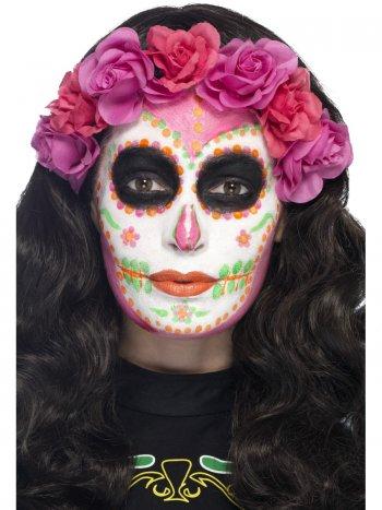 Kit Maquillage Latex Néon UV Calavera