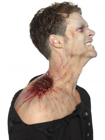 Prothèse Mousse Latex Morsure Infectée