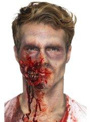 Prothèse Mousse Latex Machoire Zombie