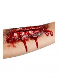 Prothèse Latex Plaie Ouverte (18 cm)