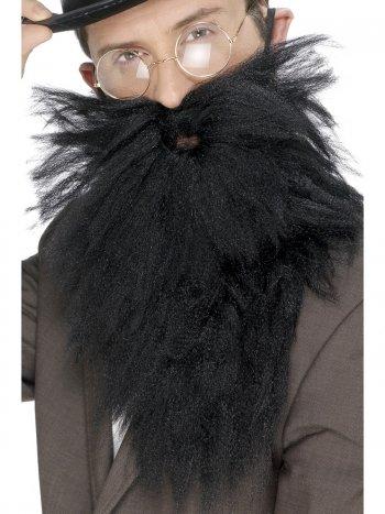 Longue Barbe et Moustache en bataille Noir