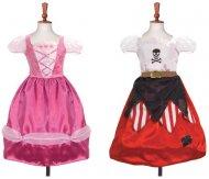 Déguisement Princess/Pirate Réversible Luxe