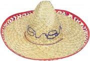 Chapeau Sombrero Mexicain en Paille