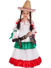 Déguisement de Mexicaine Luxe