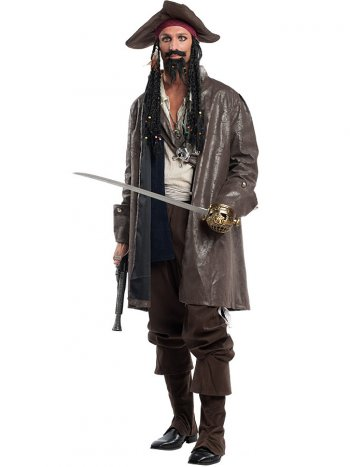Déguisement Capitaine Pirate Luxe