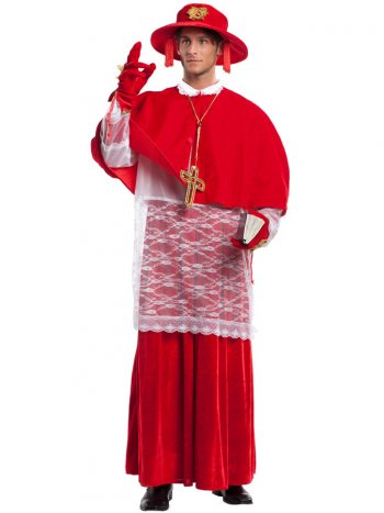 Déguisement de Cardinal Luxe