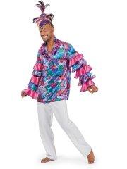 Chemise Caraïbes Carnaval
