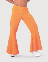 Pantalon Disco Maxi Patte d'Eph' Homme Orange