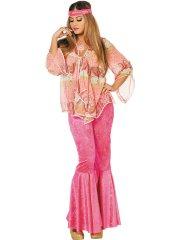 Déguisement Hippie Pinky Luxe
