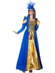 Déguisement Marquise Vénitienne Bleu Luxe