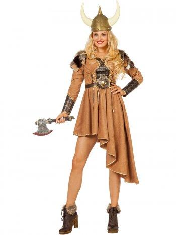 Déguisement Dame Viking Luxe