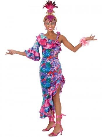 Déguisement Danseuse Caraïbes Carnaval