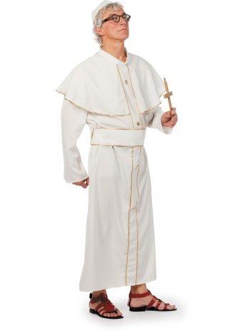 Déguisement de Pape Blanc et Or