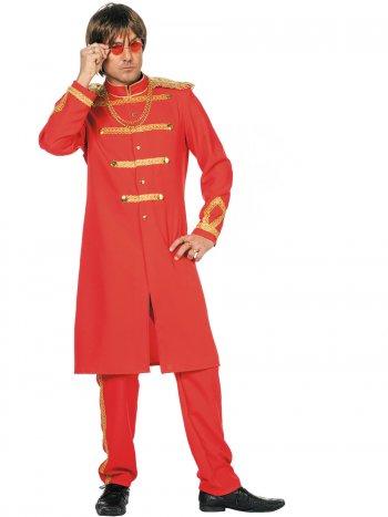Déguisement Sergent Pepper Rouge