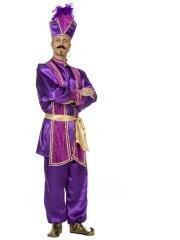 Déguisement Sultan Violet Luxe