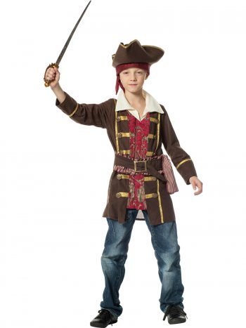 Déguisement Pirate Marron